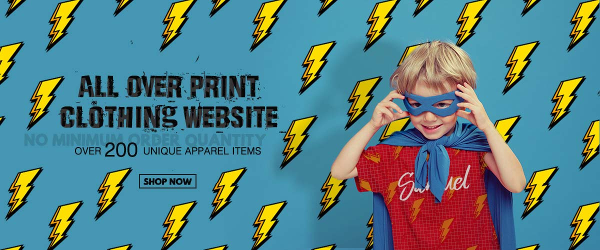 Shop All Over Print Apparel  Make Your Own Unique One Of A Kind Allover Print Clothing | CowCow